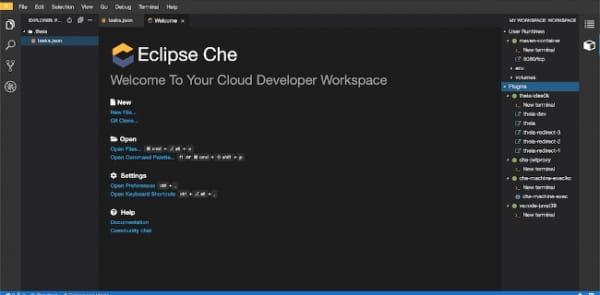 How to: Developing in the cloud (Eclipse Che IDE)