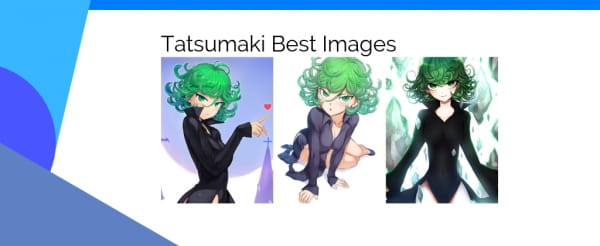 Tatsumaki FanArt : The best images